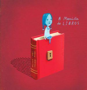 a meniña de libros
